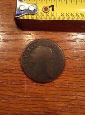 1782 France Coin, worn condition