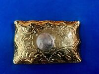 Western Coin Centerpiece Belt Buckle - Native American Indian head Nickel