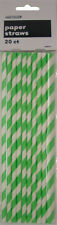 Paper Straws Birthday Party Tableware & Serveware