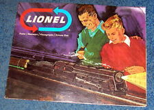 Original 1966 Lionel Train, plus other toy Catalog. Slot Cars, Science