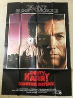 Clint Eastwood, Dirty Harry kehrt zurück  - Original Filmplakat A0