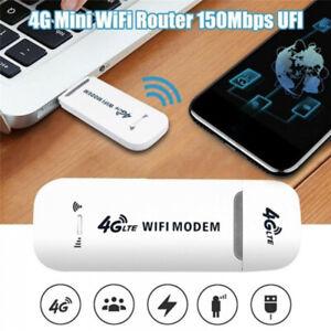 4G LTE High-Speed Router WiFi Modem Stick USB Dongle Network Wireless Hotspot