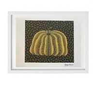 Yayoi Kusama - Pumpkin  Print Signée et numérotée