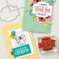 Greetings Label Cutting Die Stencils Stamp Set for DIY Scrapbook Embossing