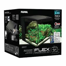 Fluval Flex Aquarium 34 Litre Curved Nano Fish Tank