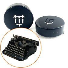 UNDERWOOD PORTABLE TYPEWRITER RIBBON COVERS Antique Schreibmaschine Vtg Part