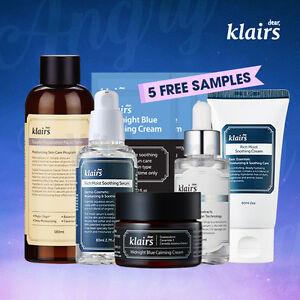 [KLAIRS] Angry Skin Calming Package /5 items + free samples