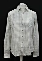 BNWT DUBARRY Men's Roundwood Beige Multi Long Sleeve Cotton Check Shirt Size M