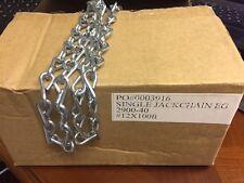 #12 x 250 feet spoil of Single Jack Chain Zinc Plated  Fehr Bros.