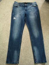 Simply Be Sadie Jeans, Size 16, Regular, Distressed Look