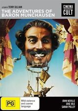 The Adventures Of Baron Munchausen (DVD, 2016)
