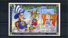 Alderney 2015 MNH Alice Adventures in Wonderland 150th Anniv 1v S/S Stamps