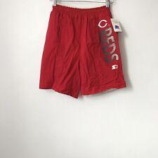 vintage cincinnati reds starter swim trunks mens size medium deadstock NWT 90s