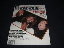 1979 Circus Magazine Bee Gees, Marie Osmond, Elvis Costello Centerfold