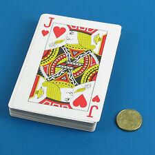 Plastic Coated JUMBO Playing Cards Poker Gambling Casino Gaming Giant Family Fun