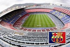 Stadium Nou Camp - Barcelona (Spain) postcard - Size 15x10 cm. aprox.
