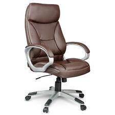 Bürostuhl Chefsessel Drehstuhl Kunstleder Eago Farbe schwarz / braun EG-223