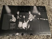 CHAS NEWBY THE BEATLES SIGNED PHOTO PHOTOGRAPH LP VINYL RECORD QUARRYMEN LENNON4