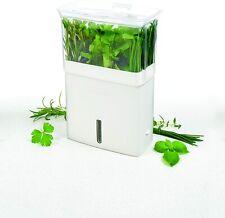 Cole & Mason Fresh Herb Keeper Keeps Herbs Fresher Longer Fits In Fridge Door