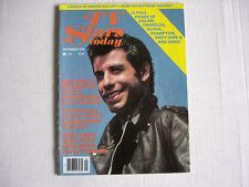 JOHN TRAVOLTA Olivia Newton-John TV STARS TODAY magazine Sept 1978 BEE GEES