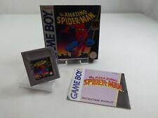 THE AMAZING SPIDER-MAN ORIGINAL NINTENDO GAMEBOY RETRO VINTAGE MINT BOXED
