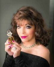 "JOAN COLLINS - 10"" x 8"" Promotional Photo TIMELESS BEAUTY Range 2015  #382"