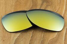 Bright 24k Gold Iridium Polarized Mirror Replacement Lens for Oakley Dispatch 2