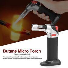 BBQ Kitchen Lighter Micro Torch Refillable Adjustable Flame Butane Gas Lighter