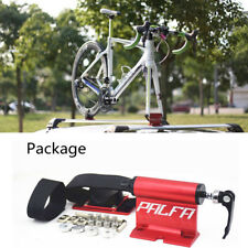 Hot !16.5*8*4cm Bike Car Truck Quick-release Fork lock Alloy Roof Mount Rack Red