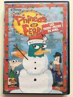 PHINEAS ET FERB Les perry- péties de Noël DVD NEUF SANS BLISTER Walt disney