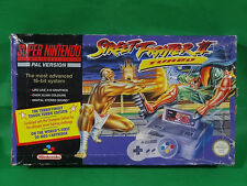 Nintendo SNES Street Fighter II 2 Turbo Edition Console Boxed