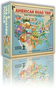 Wood Expressions Puzzle American Road Trip SW