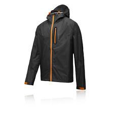 Higher State Lite Hommes Orange Noir Zip Trail Veste Manteau Haut Top Sport