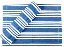 Hamptons Coastal Blue and White Stripe Stripe Table Runner- 34 x 180 cm