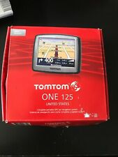 TomTom ONE 125 Automotive GPS Car Navigation System Mountable US Auto