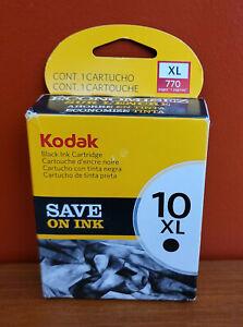 Kodak 10 XL Black Ink Cartridge New Factory Sealed