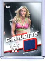 WWE Charlotte 2016 Topps Divas Revolution Used Shirt Relic Card SN 34 of 199