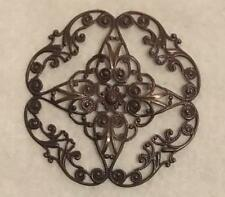 Vintaj Natural Brass 63mm Full Diamond Circle Filigree
