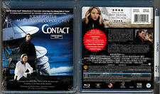Blu-ray Carl Sagan CONTACT Jodie Foster James Woods Cdn WS Region A/B/C OOP NEW