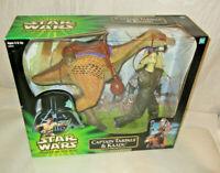 Star Wars Power Of The Jedi Captain Tarpals & Kaadu SEALED Hasbro 2000