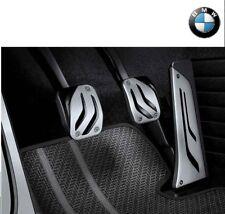 Original BMW M Performance Edelstahl Pedalauflagen Schaltgetriebe 35002232276