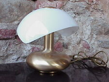 Veart Venice Italy design table lamp in brass and glass years '70 perfect