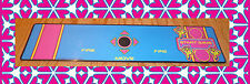 Multicade Ms Pac Man Control panel overlay Without trackball Die Cut