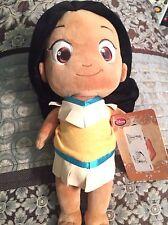 Disney Store Plush Toddler Pocahontas Doll NWT!