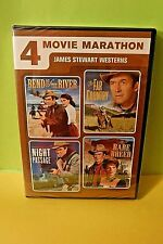 CLASSIC JAMES STEWART WESTERN COLLECTION-4 FILMS-NEW/SEALED 2 DVD SET + FASTship