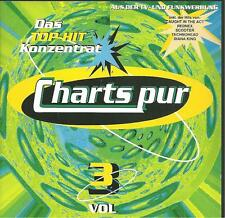 cd C6 VARIOUS CHARTS PUR VOL 3 ( Corona Whigfield Diana King Caught in the act