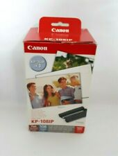 """Canon KP-108IP Color Ink With 4"""" x 6"""" Paper 108 Sheets (KP-36IP x 3) Compact"""
