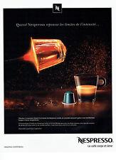 Publicité Advertising 127  2013  Nespresso   café  Dharkan