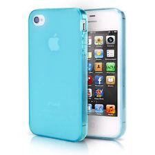 IPHONE 4 4S TPU Bumper Case Silicone Dust Case Cover Matt Transparent