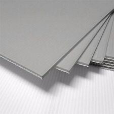 "10 SILVER Corrugated Plastic 18X24"" 4mm Coroplast yard signs blank"